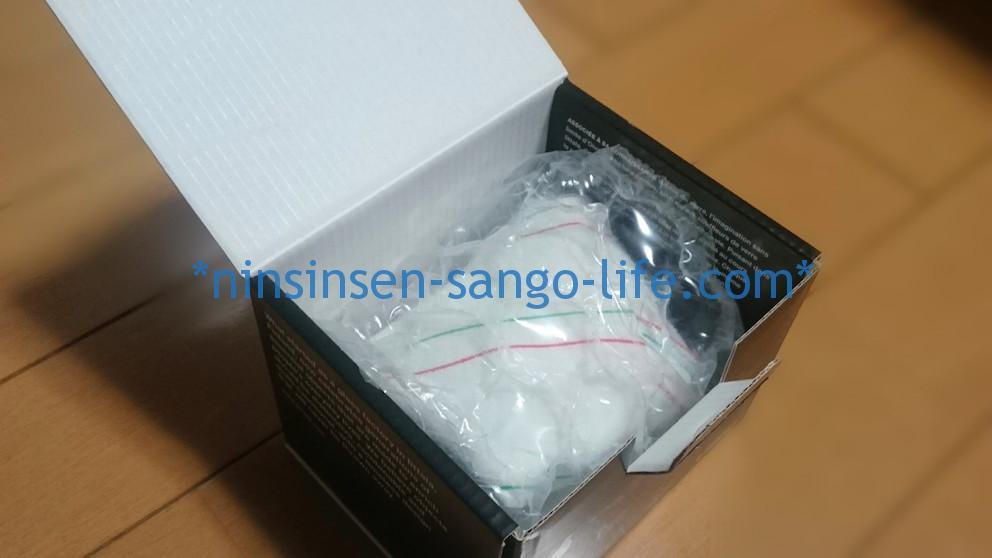 sieppoシエッポの箱を開ける厳重な梱包