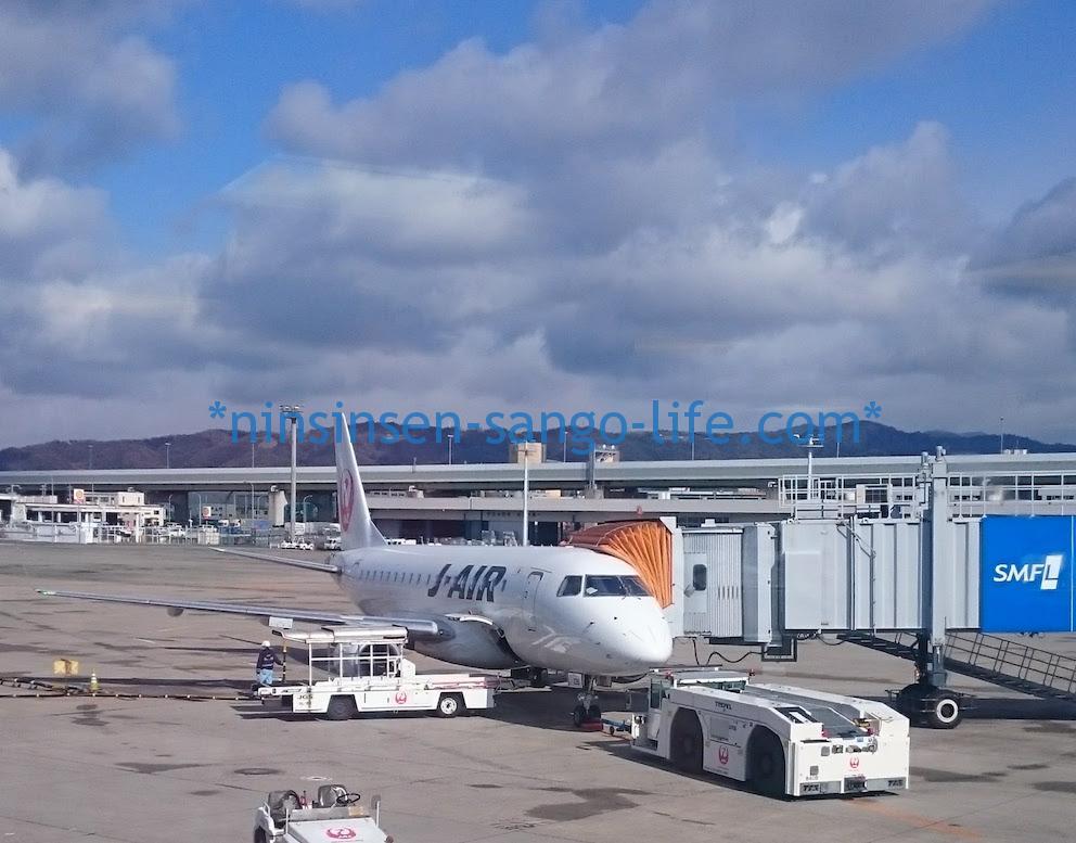 伊丹北ターミナルJAL