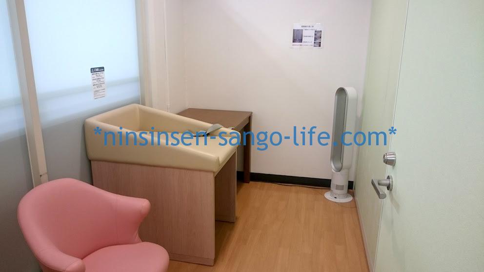 伊丹空港北ターミナル授乳室左側の部屋