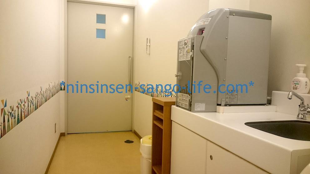 南条SA(サービスエリア)下り:新潟方面の授乳室中から