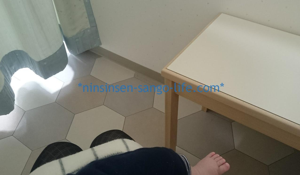 髙島屋ベビー休憩室の授乳室個室2